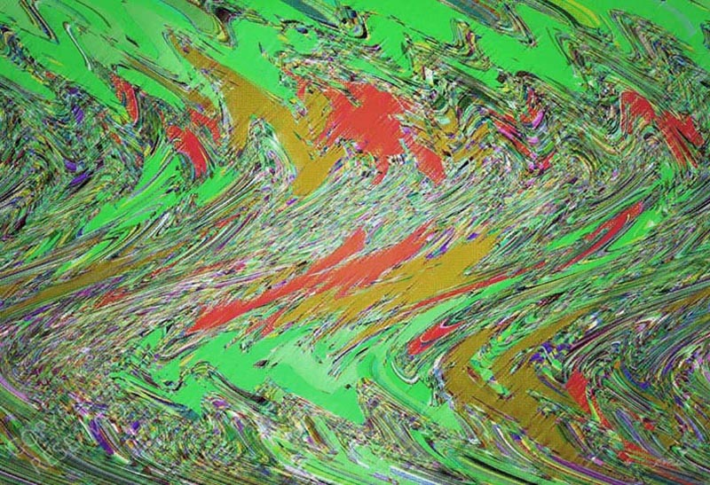 Shake (30B) by John Neville Cohen, Abstract Limited Edition Print, Maximum of 8,