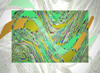 Abstract Green 2 (39B) by John Neville Cohen, Limited Edition Print, Maximum of 8.