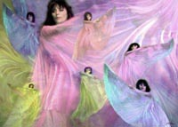 44 Dancing Silks Large limited edition prints by John Neville Cohen